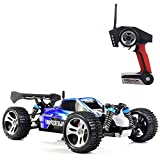Pinjeer 45KM / H elektrisches Hochgeschwindigkeits-Rc-Auto 1/18 2,4 GHz 4WD Ferngesteuertes Auto Weg vom Straßenrennwagen Rc-Monster-LKW-pädagogischen Spielwaren-Geschenken für Kinder
