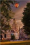 Posterlounge Forex-Platte 120 x 180 cm: Frauenkirche Dresden von Stefan Becker