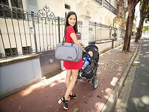 Babymoov A043574 Wickeltasche Trendy Bag, grau - 2