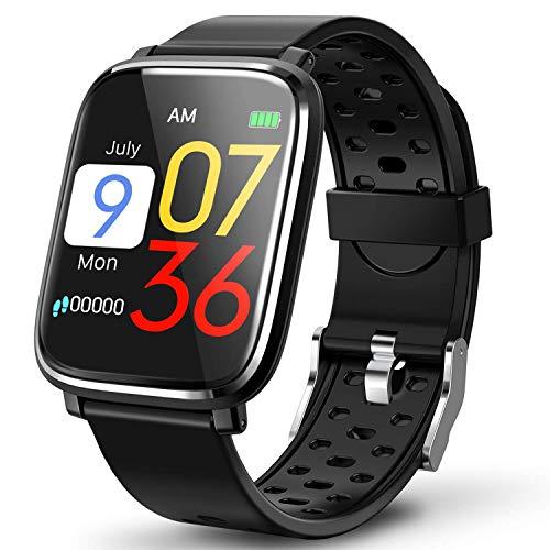 """Fitness Tracker, Activity Tracker con schermo a colori da 1,3\""""Smart Watch impermeabile IP67 con cardiofrequenzimetro Sleep Monitor Contapassi per donne Uomini Bambini-26"""