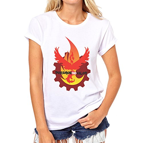 Pokemon Go Valor Game It Find It Search For Pikatchu And Other Win The Game Quality Damen T-Shirt Weiß