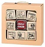 Stempelset 01 (Lehrer) 10-teilig Original stieber® stiebox superleicht