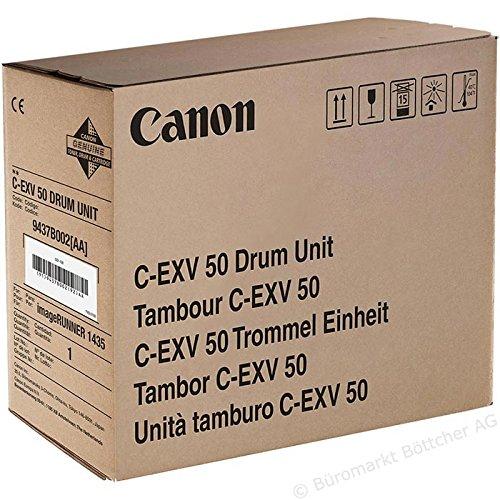 Preisvergleich Produktbild 1x Original Canon Trommel 9437B002 C-EXV50 für Canon IR 1435 I - BLACK - Leistung: ca. 35500 Seiten/5% -
