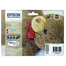 Epson C13T06154010 Inkjet Cartridge for DX3850 - Cyan/Magenta/Yellow/Black (Pack of 4)