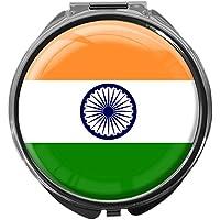 Pillendose/rund/Modell Leony/FLAGGE INDIEN preisvergleich bei billige-tabletten.eu