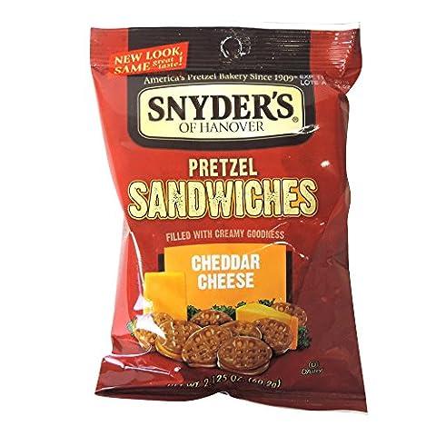 Snyder's - Cheddar Cheese Pretzel Sandwiches -