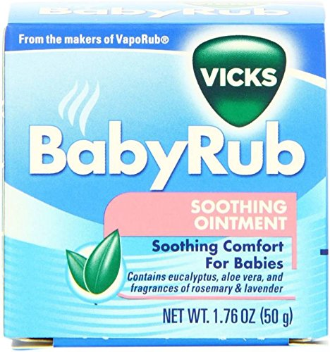 Baby Grow Vicks Baby Rub Soothing Ointment 1.76(50g)