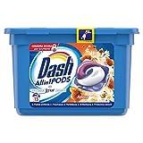 Dash PODS All in1 Detersivo in Monodosi per Bucato, Ambra, Semplici da Usare, Profumo Ottimale In 1 Solo Lavaggio - 15 Lavaggi