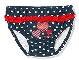 Playshoes Baby-Mädchen UV-Schutz Windelhose Herzen Schwimmwindel, Blau (Marine 11), (Herstellergröße: 86/92)