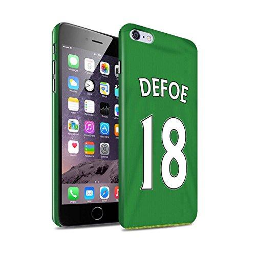Offiziell Sunderland AFC Hülle / Glanz Snap-On Case für Apple iPhone 6+/Plus 5.5 / Torwart Muster / SAFC Trikot Away 15/16 Kollektion Defoe