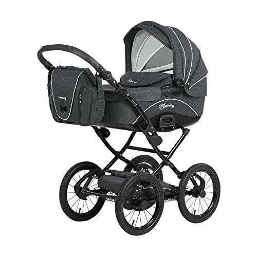 Bild 1: Knorr-Baby 36000-8 Kombikinderwagen Classico, grau