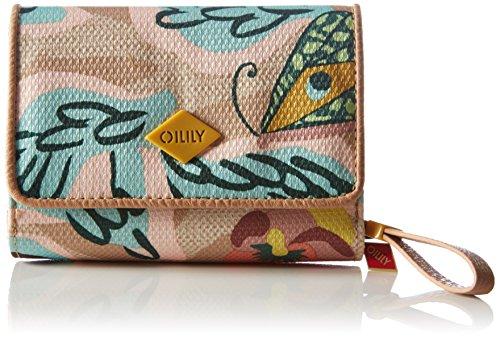 Oilily Oilily S Wallet OES6158-838 Damen Geldbörsen 14x10x4 cm (B x H x T), Mehrfarbig (Biscuit 838) (80-dollar-schuhe)