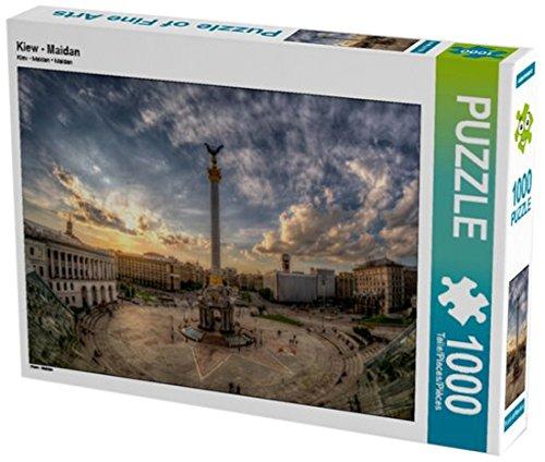 Preisvergleich Produktbild Kiew - Maidan 1000 Teile Puzzle quer (CALVENDO Orte)