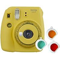 Instax Mini 9 Appareil Photo Transparent Jaune