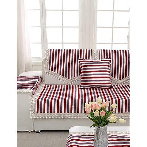 zzlovehome-home impermeable Funda para sofá en microfibra sólido Mini cubo acolchado sillón reclinable, Home muebles funda protectora para sillas,