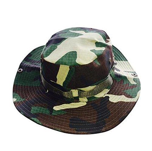 Elwow da uomo outdoor camo berretto militare Jungle cappello da