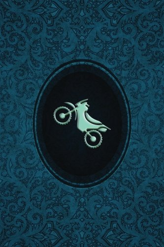 Monogram Motocross Journal: Blank Journal Diary Log: Volume 61 (Monogram Cerulean 365 Lined) por N.D. Author Services