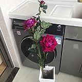 JIALE3536 Flores Artificiales,Flores De Seda,Peonía,Ramo De Boda,Hortensia Artificialflores Falsas,Flor De Simulación,La Decoración De Flores Rosas Flores Flores Flores Flores De Plástico De Simul