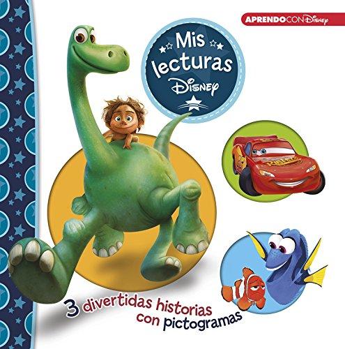 El viaje de Arlo   Cars   Buscando a Dory (Mis lecturas Disney): 3 divertidas historias con pictogramas por Disney