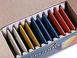 10 x Schneiderkreide farbig sortiert
