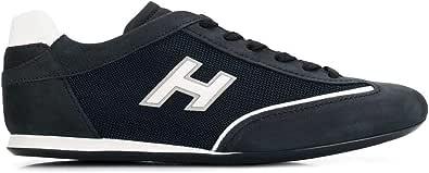 Hogan Sneakers Uomo HXM05201684IGK099Z Camoscio Blu