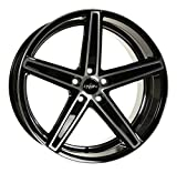 OXIGIN 18 Concave black full polish 10,5x20 ET23 5.00x112.00 Hub Bore 66.60 mm - Alu felgen