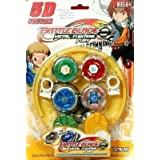 Babygo Beyblades Dragoon Dranzer Metal Legends With 2 Handle Launchers And A Stadium - Set Of 4