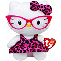 Ty Hello Kitty - Peluche con gafas, 15 cm (United Labels 40958TY)