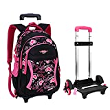 Best Rolling Back Packs - Fellibay Rolling Backpack Kids Backpack With Wheels Children Review