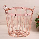 Laundry,Nursery,Kids Toy Storage CompuClever Storage Baskets Convenient Collapsible with Handles Storage Bins,laundry bags,Water-resistant Nursery Organizer for Pet Toys