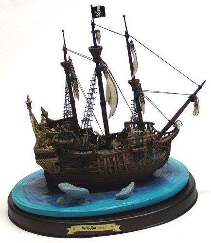 WDCC Disney Classics-Peter Pan Capitán Hook Barco Jolly Roger