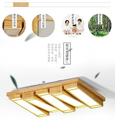 GQLB Kreative Holz- lampe Klavier Massivholz Schlafzimmer LED-Leuchten (710 *