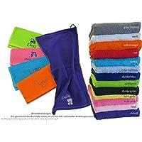 GiO-Shop * Sonderanfertigung mit Stickerei Premium Qualität Kinder-Handtuch (Gästehandtuch) 30x50cm mit Namen & Motiv Bestickt (30x50cn (Gästehandtuch))