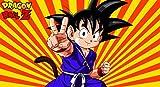 Infinite Arts Dragon Ball Super Goku (44x24 inch / 110x60 cm) Silk Print Poster Seide Plakat - Silk Printing - 500417