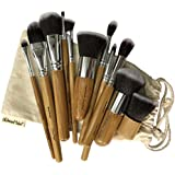 Dream Maker DM-136 Makeup Brush Set, Beige, 11 Piece