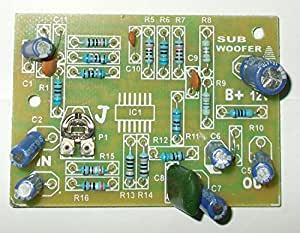 Soumik Electricals Subwoofer Filter Board