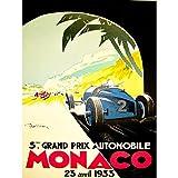 Wee Blue Coo LTD Sport Advert Motor Race Grand Prix Monaco