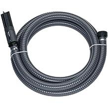 """Gardena 1418-20 Sauggarnitur für Pumpen, Anschlussfertig, Spiralschlauch vakuumfest, Saugfilter integriert, mit Rückflussstopp (Schlauchlänge: 7m, Schlauchdurchmesser: 25mm, Anschlussgewinde 1"""")"""