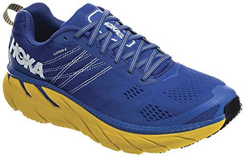 Hoka CLIFTON 6, Zapatillas de Running por Hombre, Azul (NebulasBlue/Lemon NBLM), 44...