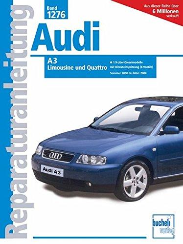 Preisvergleich Produktbild Audi A3    2001-2004 (Reparaturanleitungen)