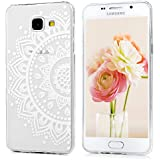 Samsung Galaxy A5(2016) Coque - YOKIRIN® TPU Souple Coloré Phone Case Ultra-fin - Fleur de Totem