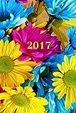 "2017: Calendario/Planificador de cita: 1 semana en 2 lados, Formato 6"" x 9"" (15.24 x 22.86 cm), Encuadernación Flores: Volume 4"