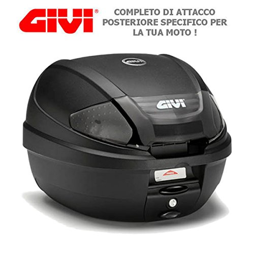 BAULETTO GIVI E300NT2 + SR1143 PER HONDA SH 125 i ABS 2013