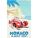 Monaco 1937 Vintage Poster