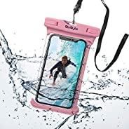BixByte Waterproof Phone Pouch, Floating phone bag. Compatible with all Smartphones: iPhone 11/11 Pro, iPhone