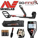 MINELAB go-find 40Metalldetektor mit Tragetasche, Graben Kelle, findet Tasche und Batterien