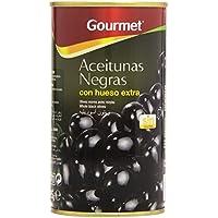 Gourmet - Aceitunas negras con hueso - Extra - 185 g