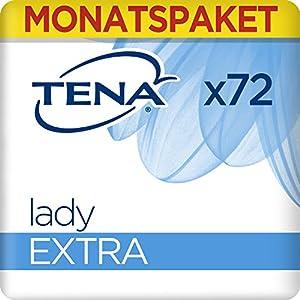 TENA Lady Monats-Paket mit 72 Einlagen (6 Packungen x 12 Einlagen)