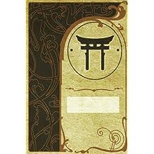 Monogram Shinto Journal: Blank Notebook Diary Log