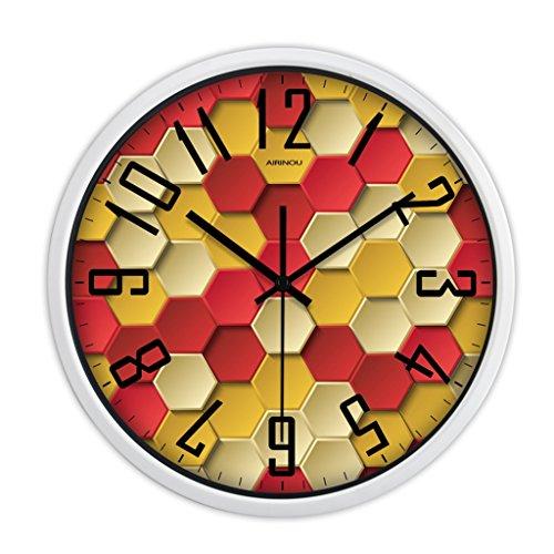 Personnalité Mode Horloge murale Salle de séjour Chambre Creative Table (Couleur : # 2, taille : 30cm)